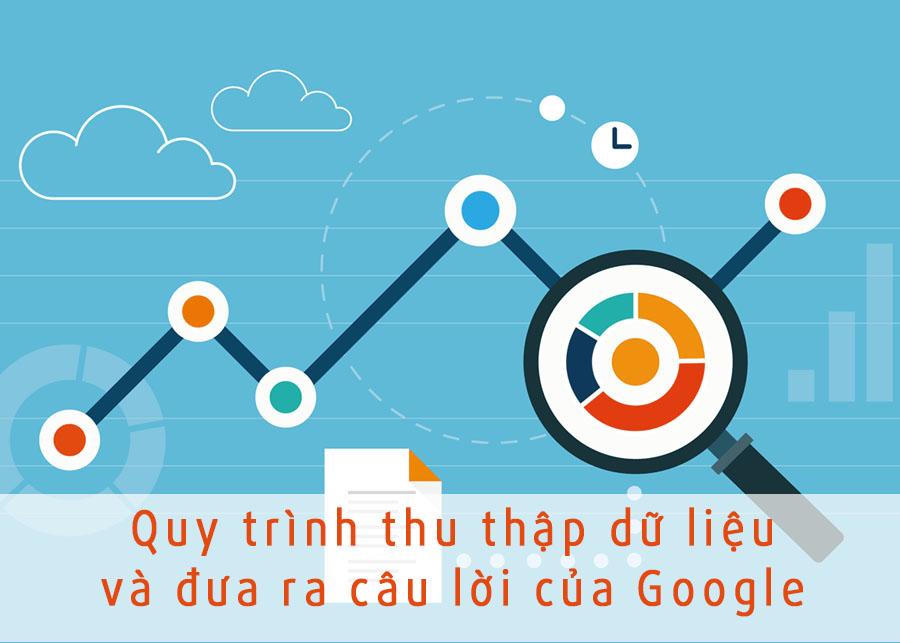 Quy trình thu thập dữ liệu và đưa ra câu lời của Google