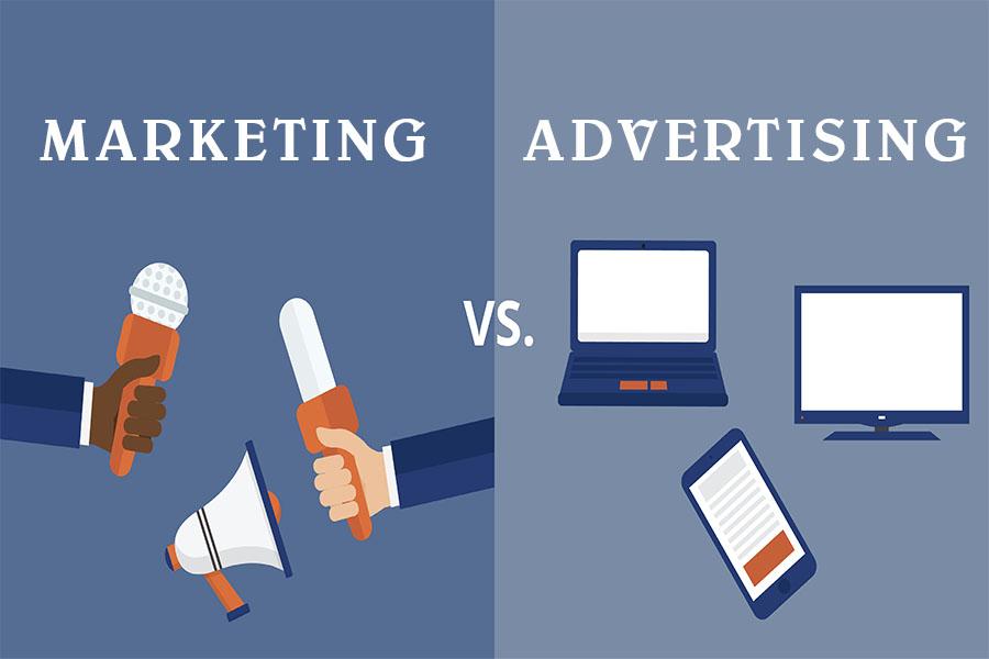 Phân biệt giữa marketing và quảng cáo