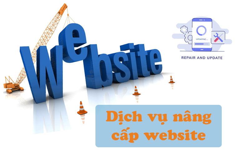 Dịch vụ nâng cấp và thiết kế lại website [Báo giá trọn gói]