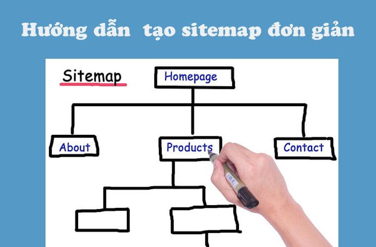 hướng dẫn tạo sitemap