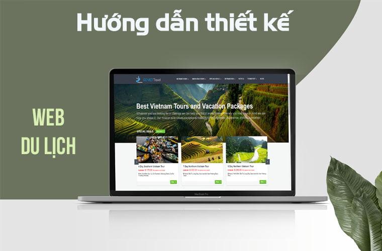 thiết kế web du lịch chuyên nghiệp