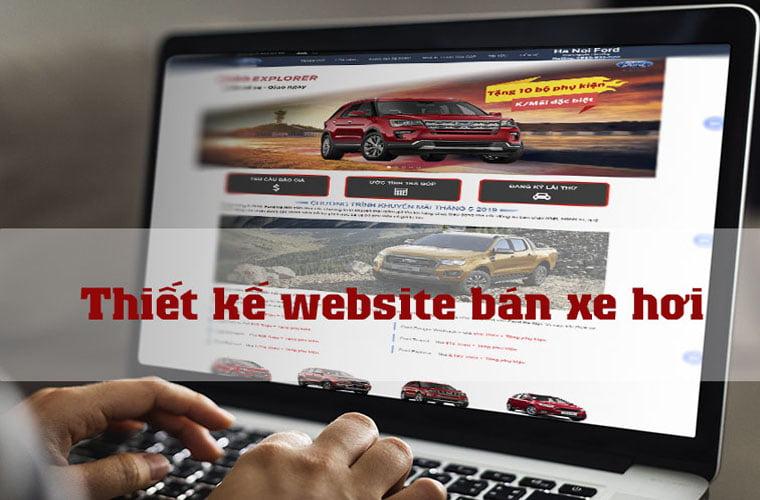 Thiết kế website bán xe hơi trọn gói đẳng cấp