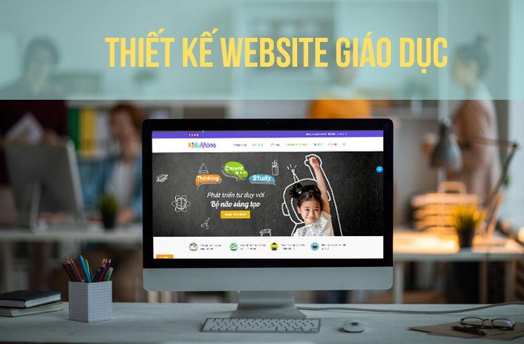 Công ty thiết kế website giáo dục Đẹp -Tiện ích