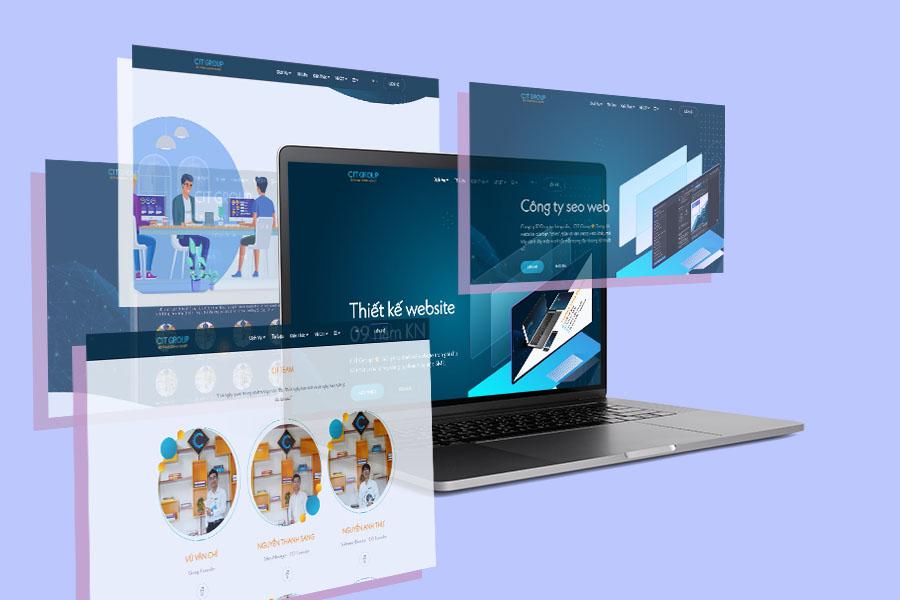 công ty thiết kế web bình dương