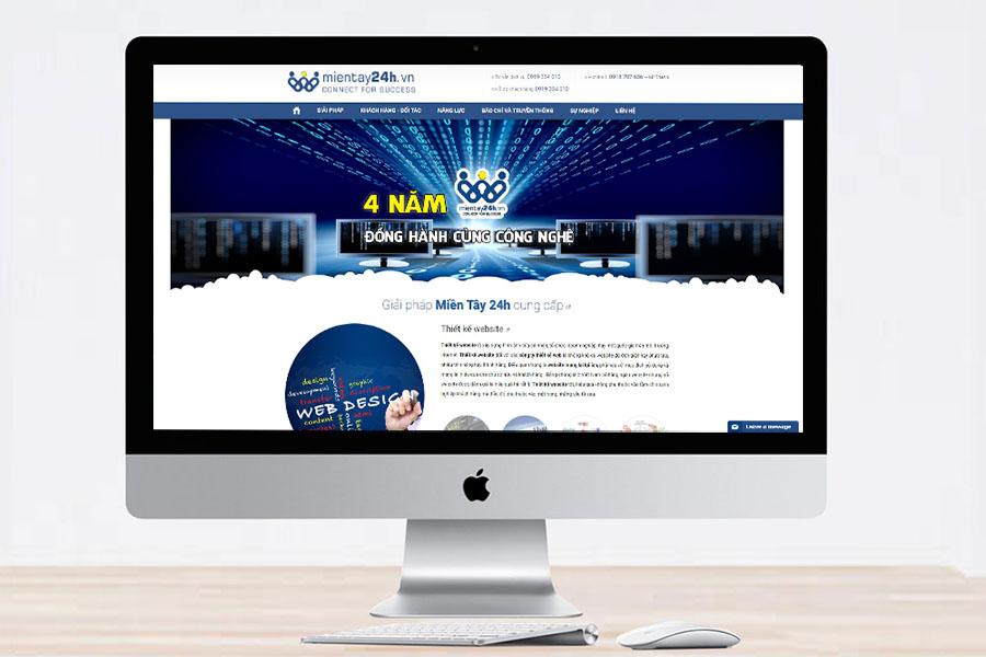 công ty thiết kế web tại cần thơ chuyên nghiệp