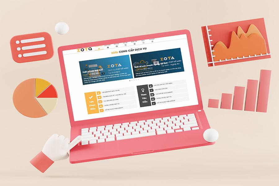 công ty thiết kế web zota