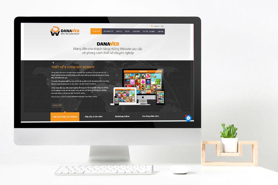 công ty thiết kế web danaweb