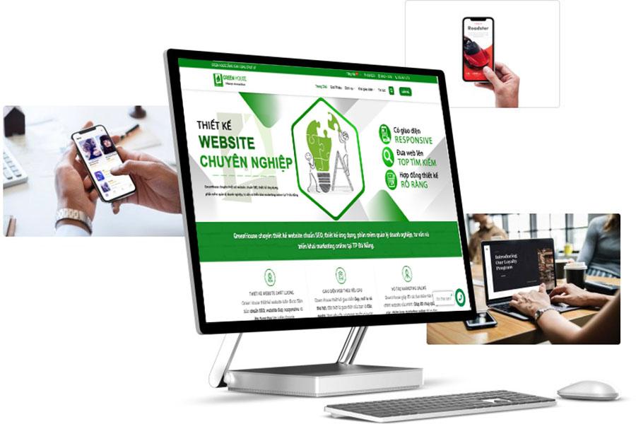 công ty thiết kế web greenhouse