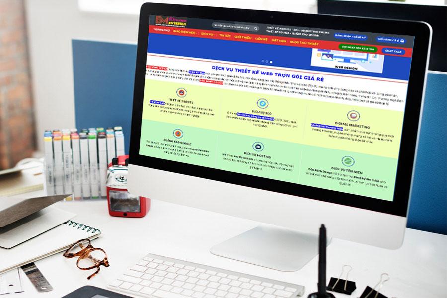 Công ty thiết kế web tại Đồng Tháp giá rẻ