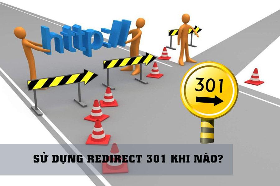 sử dụng redirect 301