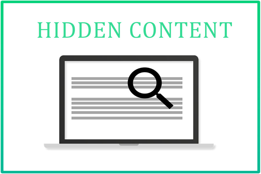 Khám phá một số thông tin về Hidden content và Hidden html