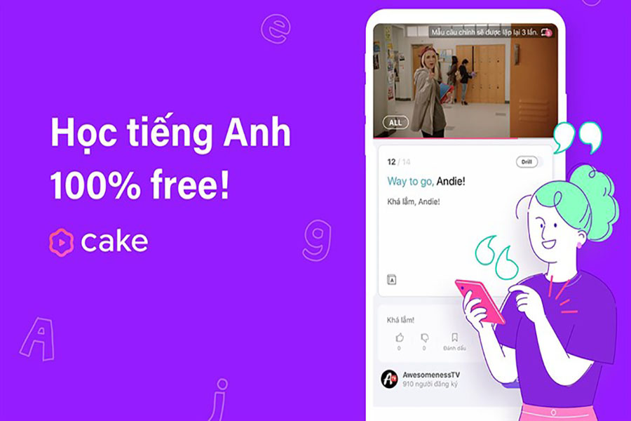 top-app-hoc-tieng-anh-cake