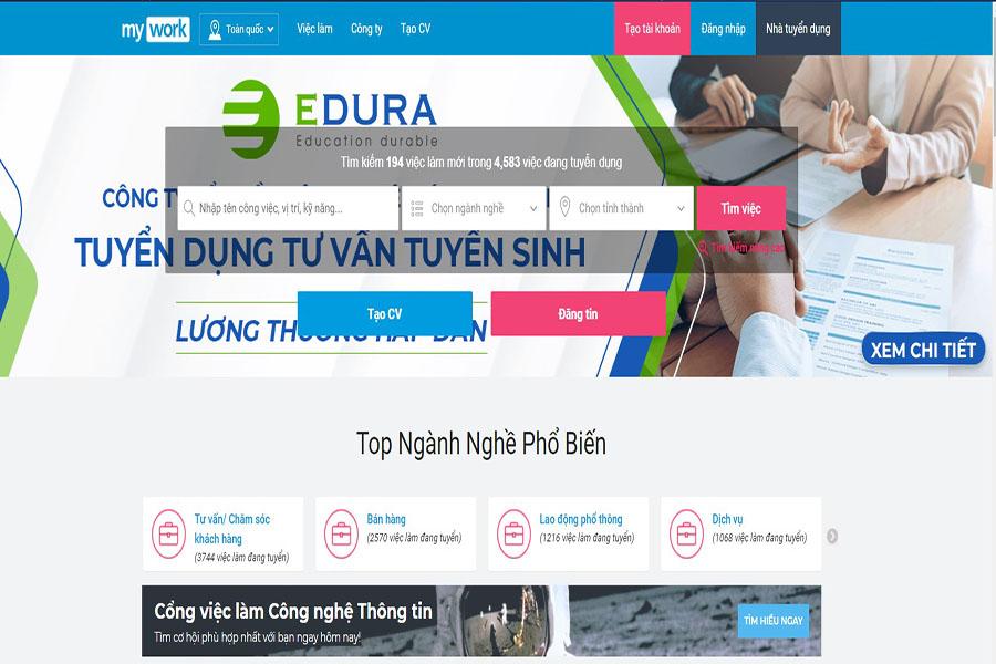 trang-web-tuyen-dung-Mywork.com.vn