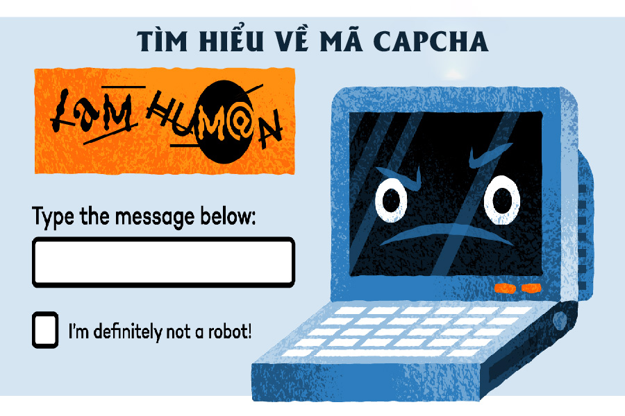 Captcha là gì? Lý do bạn cần gõ captcha khi đăng nhập website