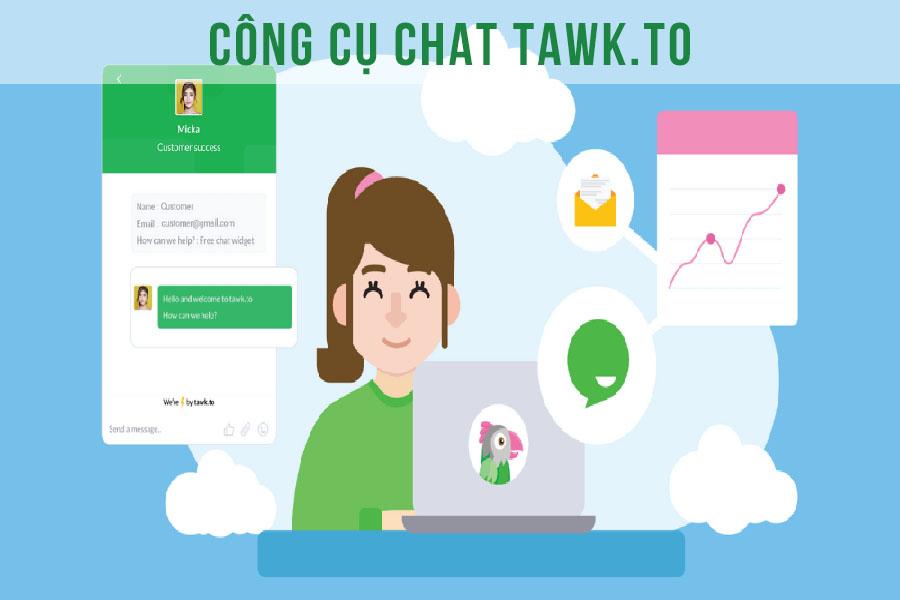 Những điều cần biết về Tawk.to công cụ chat trên web