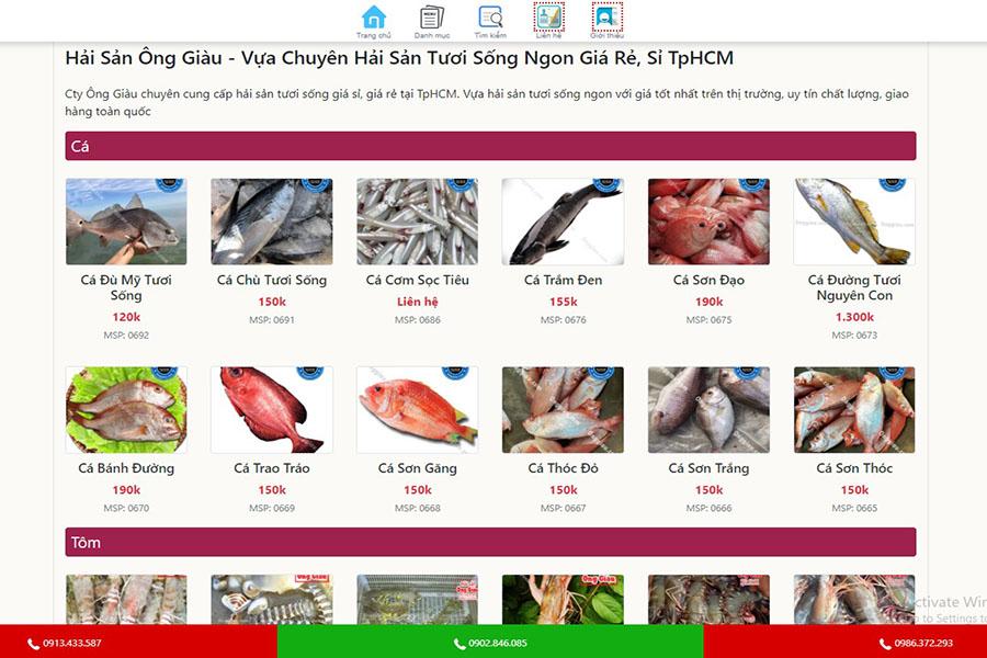website-ban-hai-san-ong-giau