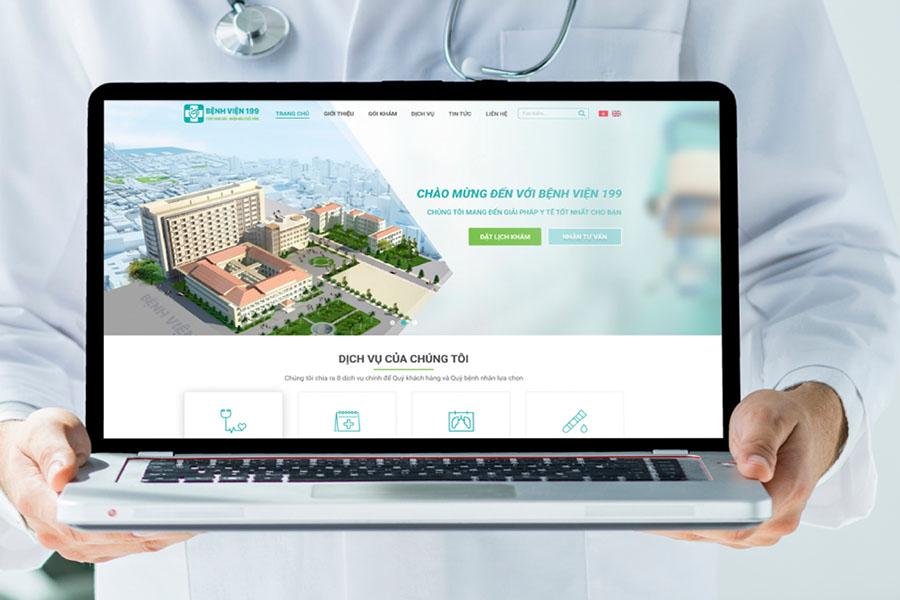 Top 12 website bệnh viện hàng đầu Việt Nam