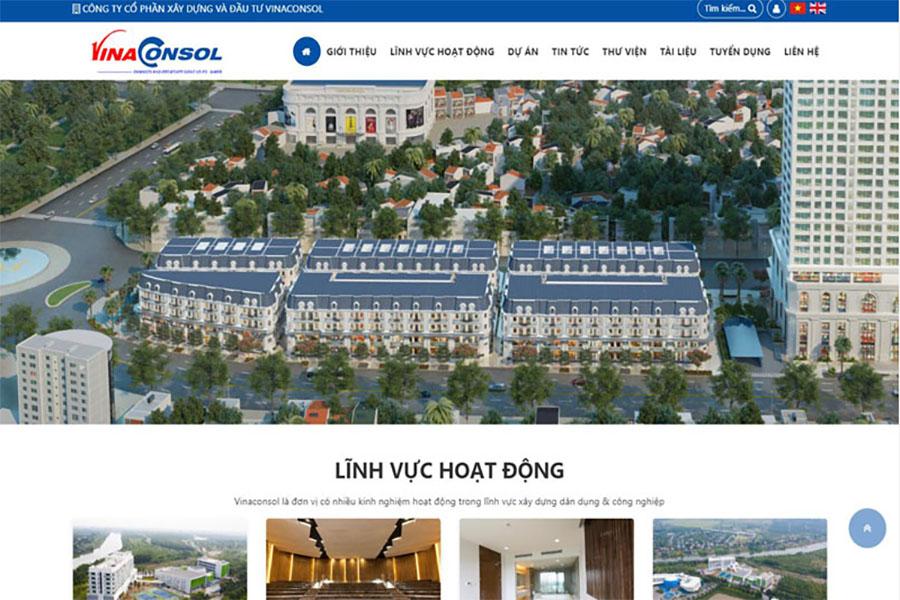 website-cong-ty-xay-dung-vina-consol