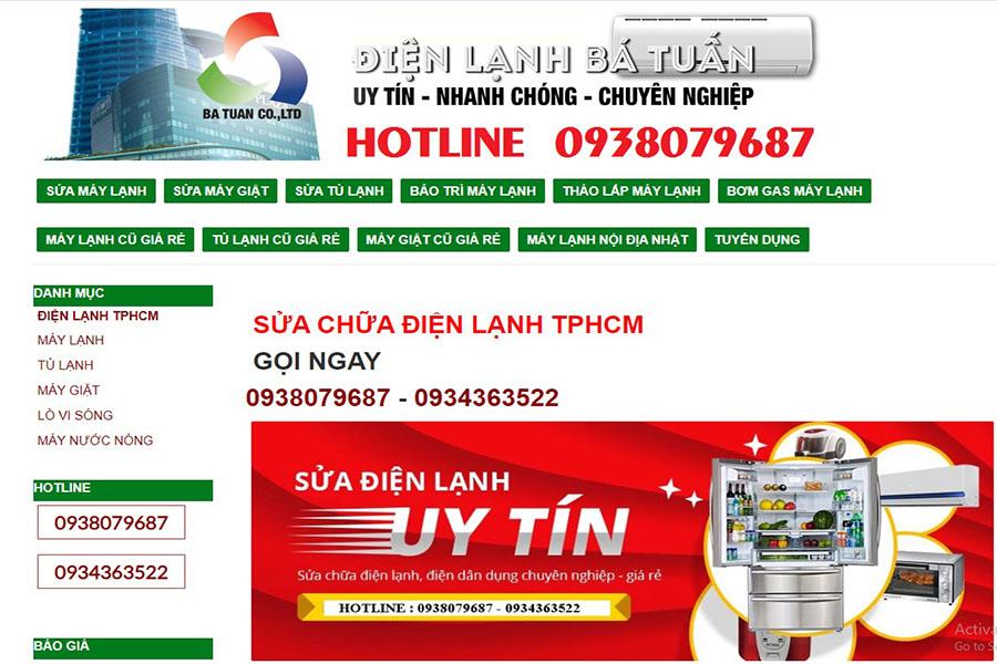 website-dien-lanh-ba-tuan