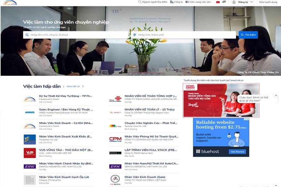website-tim-viec-careerlink
