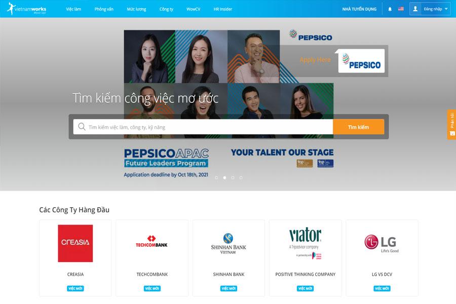 website-tim-viec-vietnamwork